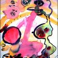 Extasy - Aquarell auf Papier (Watercolor on paper) - 40x60 cm - by Daniel Sean Kaiser