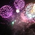 Et pour finir, un magnifique feu d'artifice!