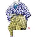 皿屋敷  歌舞伎 イラスト 挿絵 役者絵