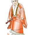 歌舞伎 河内山 イラスト 挿絵 役者絵 播磨屋