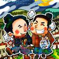 竜馬と慎太郎