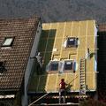 Dachflächenfenster Reiheneinfamilienhaus in Sargans