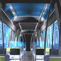 Study: tram (interior and exterior design)