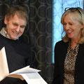 Verabschiedung Isabelle Deplazes durch Anton Kaufmann, Kirchenratspräsident