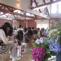 花の日「子どもの教会との合同礼拝」