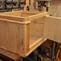 Grundkörper aus Palettenholz - geschraubt und geleimt