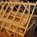 Holzdachkonstruktion