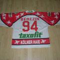 1995/96 - Sergeij Berezin - Europacup - Gameworn