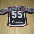 2014/15 - Felix Schütz - Avangard Omsk - KHL - Gameworn