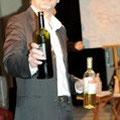 Dégustation de vin grec à la bibliothèque de Ciney