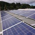 Solaranlage  Befestigung ohne Dachdurchdringung