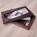 Holzbox für meine Fotos und USB Stick