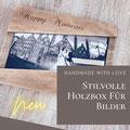 Holzbox für Fotografen und andere Dienstleister hergestellt in Deutschland