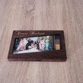 Handgefertigte Holzbox für meine Fotos
