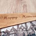 In Deutschland handgefertigte Holzbox für Fotos von meiner Hochzeit