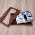 Holzbox für Fotografen und Hochzeitspaare