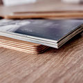 In Deutschland handgefertigte Holzbox für Abzüge und USBs