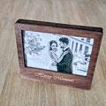 Holzbox für Fotos hergestellt in Deutschland