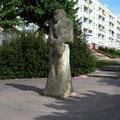 Barlach-Stele, Diestelberg Zum Andenken an den bekannten Bildhauer Ernst Barlach