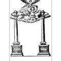 Das Denkmal soll im Rathaus zu Güstrow zur Ehrung C. P. E. Bach gestanden haben