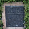 Friedhof Grabdenkmal Friedrich Schult