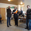 UNION Ehrenzeichen Bronze an Reinhard Etzel