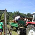 Unsere vielen Helfer bei den Abbauarbeiten