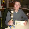 """Philipp erhielt den Pokal als jüngster """"Traktorfahrer"""""""