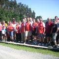 Insgesamt waren 25 USV Aktivisten bei der Tour 2012 dabei