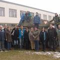 Gruppenfoto nach der Mittagspause mit den restl. USV Mitgliedern