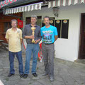 Die Sieger Beck Manfred, Seiz Alfred und Grill Reinhard