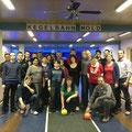 Insgesamt waren 25 Teilnehmer beim Kegelabend in Mold