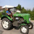 """Ludwig - seit einem Jahr ein """"Stammfahrer"""" bei den USV Traktorfreunden"""