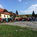 Grillmeister Ernst Kluka hat heuer den Abschluss im Mesnerhaus organisiert - Danke
