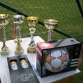 Die Pokale für das Juniorenturnier