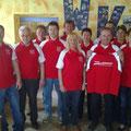 Präsident Roman Winglhofer + Team bei der Übernahme für Autohaus Kölbl
