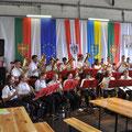 tolle Musik durch die prif. unif.  Bürgerkorps Eggenburg