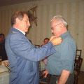 UNION Ehrenzeichen Bronze für. Präsident R. Winglhofer