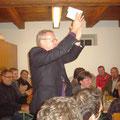 "Moderator Wolfgang Kirchner in ""voller Fahrt"""