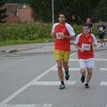 Unser Läufer: Manuel + Christian