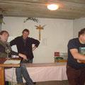 Herbert Mang betreut die Gäste im Winzerhaus