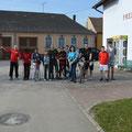 Beim OOUTDOOR Auftakt waren ein Dutzend USV Aktivisten in den Kategorien Laufen, Radfahren und Nordic Walken aktiv