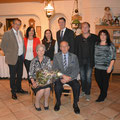 Familie mit Bgm Franz GÖD und OV Regina Gundinger