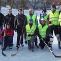 Unser Team mit den Gästen aus Heinrichsdorf