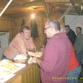 Weinbarchef Herbert freut sich über den guten Geschäftsgang