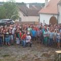 Über 90 Festgäste sind der Einladung von Norbert gefolgt
