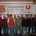 Vorstellung der USV Traktorfreunde beim int. Schnapsen im März 2013