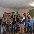 """Unsere siegreichen """"Teamkapitäne"""" mit Bgm Franz GÖD"""