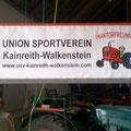 """Der neue große """"Banner"""" der USV Traktorfreunde"""