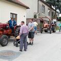 In Missingdorf stoßen Jürgen, Robert und Burkhard dazu